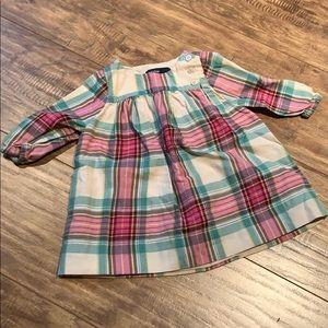 🤑 2/$20 Baby gap plaid top